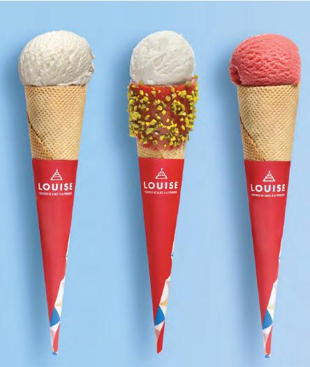 cornet de glace Louise