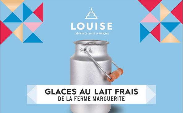 Glacier Louise - glace au lait frais
