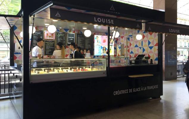 Glacier Louise Galeries Lafayette Paris