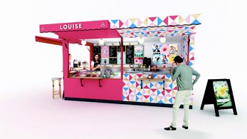 glacier louise en franchise
