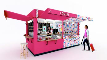 kiosque glace Louise franchise